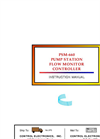 Model PSM-660 - Pump Station Flow Monitor Controller Manual