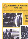 CPP Bell and Spigot Couplers - Datasheet