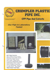 CPP Pipe And Culverts - Datasheet