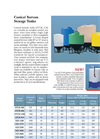 Conical Bottom Storage Tanks - Brochlure