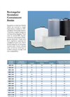Rectangular Secondary Containment Basins - Brochure