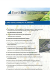 Land Development Planning - Brochure