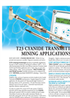 T23 Cyanide Transmitter Mining Application Data Sheet