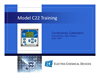 C22 Conductivity Calibration Training Presentation