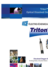 Optical Design - Triton DO8 Optical Dissolved Oxygen Sensor Brochure