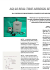 Model AQ-10 - Air Quality Particulate Sensor Broucher