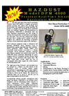 Model DPM-4000 - Real-Time Diesel Particulate Monitor Brochure