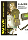 Model HD-1100 - Real Time Dust Monitor Brochure