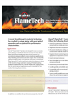 FlameTech Flame/Smoke Containment Pipe Brochure