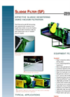 Model SF - Dewatering Filter Brochure