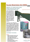 Model SDU - Dewatering Filter Brochure