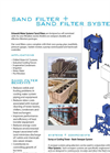 Griswold - Model SFC / SFS - Sand Filter Systems Brochure