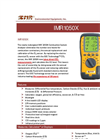 IMR 1050X 1-3-Cell Hand-Held Flue-Gas Analyzer Brochure