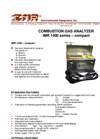 IMR 1400-Compact	2-4 Cell Compact Flue-Gas Analyzer Brochure