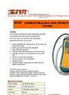 CD100A Combustible Gas Leak Detector Brochure