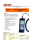 IMR - Model DAFM2 - Thermo Anemometer - Brochure