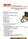 IMR - Model 1400–FO - Combustion Gas Analyzer - Brochure