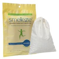 SMELLEZE Reusable Basement Odor Removal Deodorizer Pouch: Rid Smell Without Fragrance  in 200 Sq. Ft.