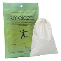 SMELLEZE Reusable Book Smell Removal Deodorizer Pouch: Rids Odor Without Chemicals in 12 Books/Time