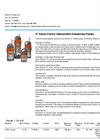 S Series Electric Submersible Dewatering Pumps Brochure