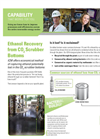 Ethanol Recovery