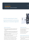 AppliTek AnaSense - On-Line Anaerobic Control Analyzer - Brochure