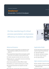 AnaSense Anaerobic Control Analyzer - Brochure