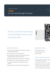 AppliTek TONI - On-Line Total Nitrogen Analyzer - Datasheet