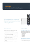 AppliTek TitriLyzer - Series of On-line Titrimetric Analyzers - Datasheet