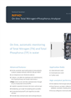 NIPHO - On-line Total Nitrogen+Phosphorus Analyzer Brochure