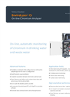 EnviroLyzer Cr On-line Chromium Analyzer Brochure