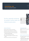 EnviroLyzer CN On-line Cyanide Analyzer Brochure