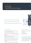 EZ-Charge - On-Line Charge Density Analyzer - Datasheet