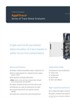 AppliTrace - Series of Trace Metal Analyzers - Brochure