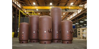NST - Vertical Bare Large Volume Water Storage Tank