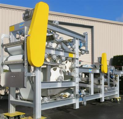 PEWE - DeWater Systems - 1/2 to 3 Meter Belt Press