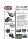 Pacer Pumps - Model S Series - Self-Priming Centrifugal Pumps- Brochure