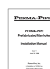 Perma-Pipes - Prefabricated Steel Manholes Manual
