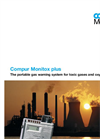 Compur Model Monitox Plus Personal Gas Monitor Datasheet