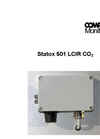Statox 501 LC- and MC IR Combustible Gas Detector Manual