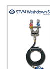 Model STVM - Steam & Water Washdown Station Brochure