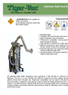 Stainless Steel Dust Extraction Arm Pharma – Brochure