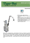 White Dust Extraction Arm – Brochure