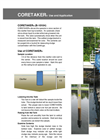 CORETAKER - Model B-10104 - Sludge Core Sampler Wastewater Application/Use