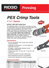 PEX Crimp Tools Brochure
