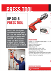 RIDGID - Model RP 200-B - Press Tool - Brochure