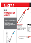 Ridge - Model K-1 - Combination Auger Brochure