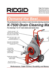 Ridge - Model K-7500 - Drum Machine Brochure