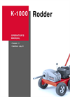 Ridge - Model K-1000 - Rodder Machine Brochure