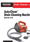 Auto-Clean - Model K-30 - Sink Machine Brochure